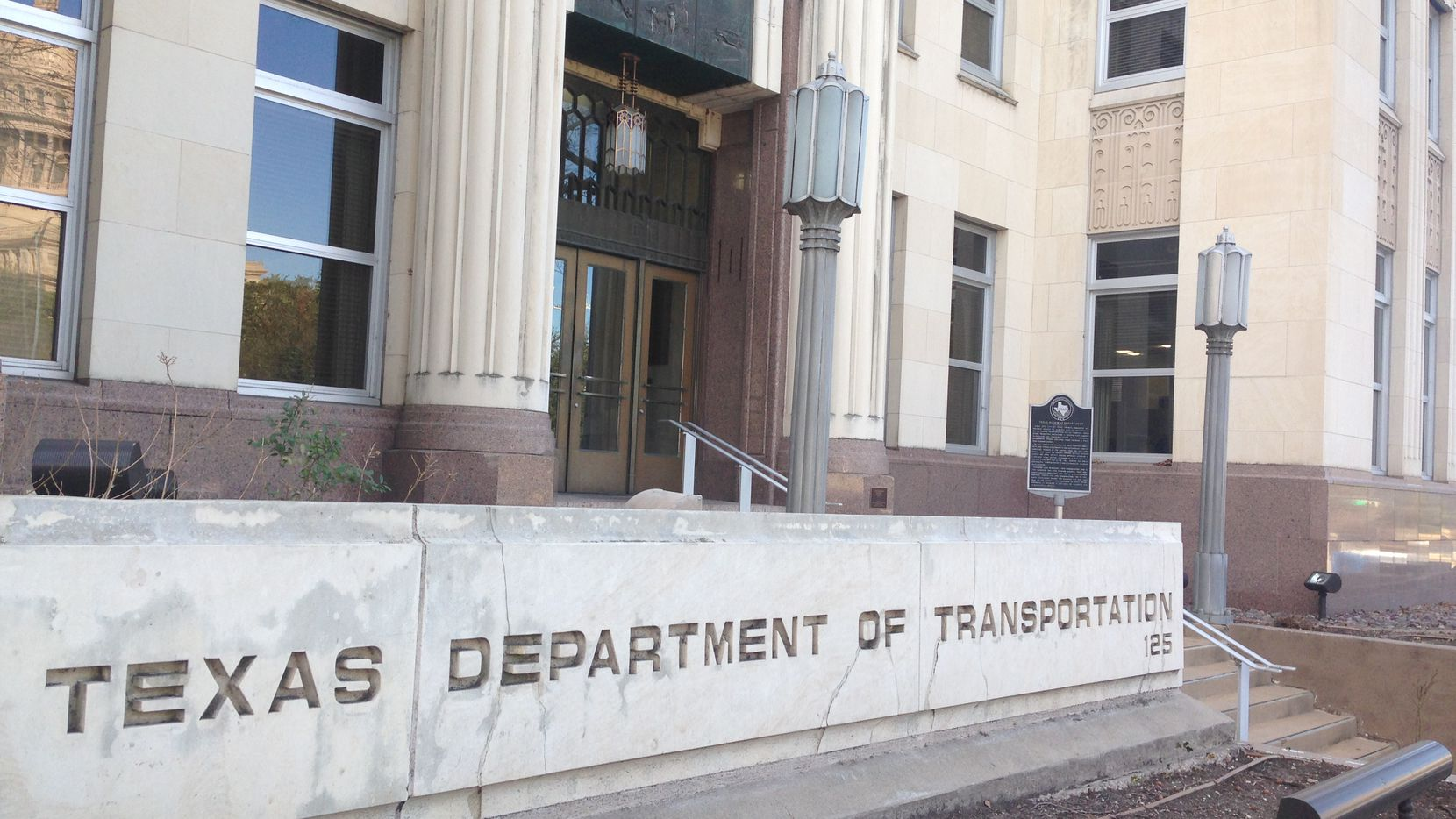 File photo of the Texas Department of Transportation headquarters in Austin,