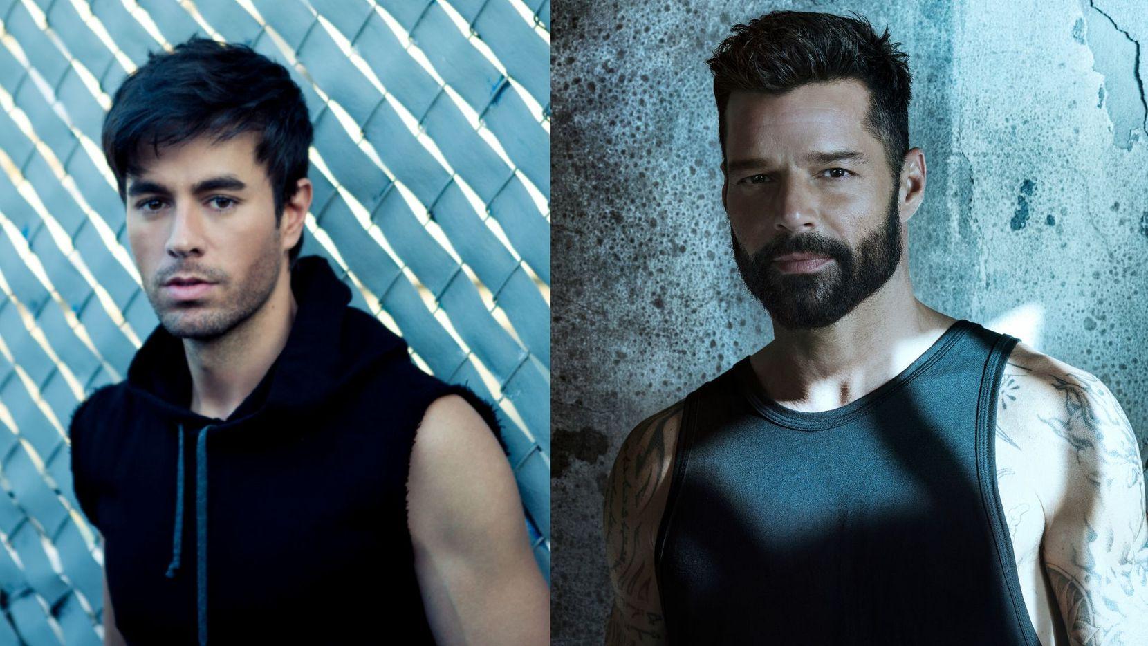 Enrique Iglesias y Ricky Martin traen gira conjunta a Dallas