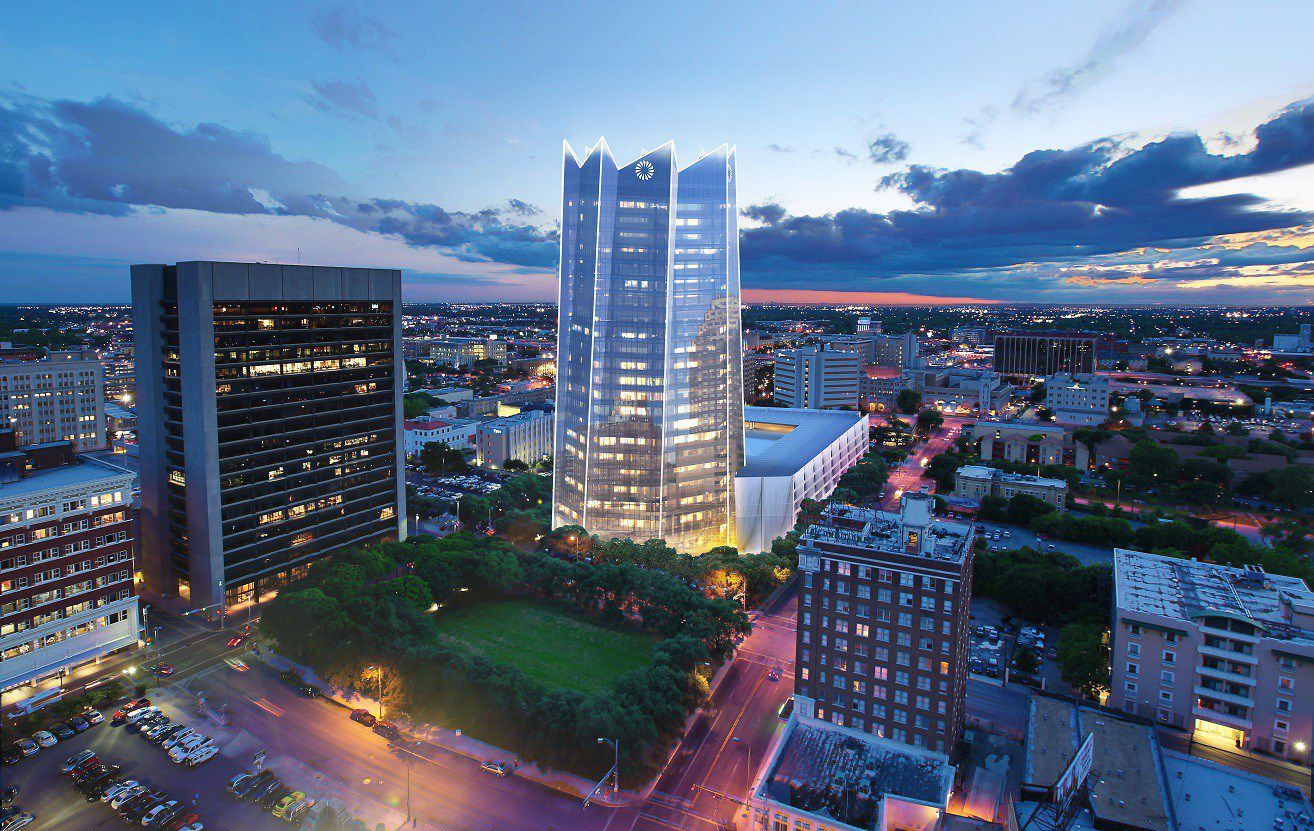 The 23-story Frost Tower in downtown San Antonio will open in 2019.