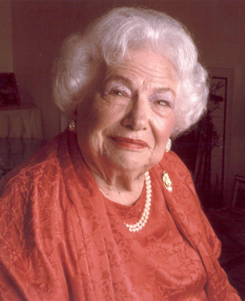 Liz Carpenter, Robert Walden's late mother-in-law