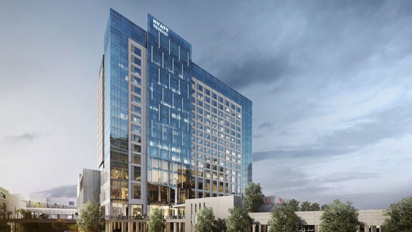 The 18-story Hyatt Regency Stonebriar will have more than 300 rooms.