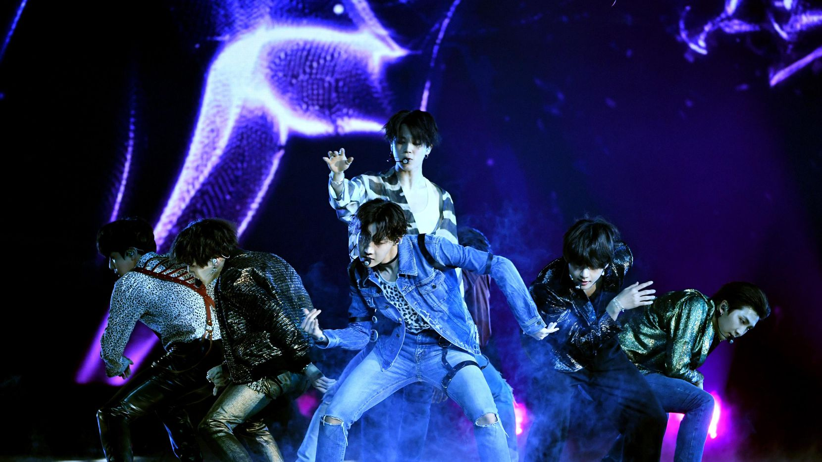 BTS performed at the Billboard Music Awards in 2018. (Getty Images/Kevin Winter)
