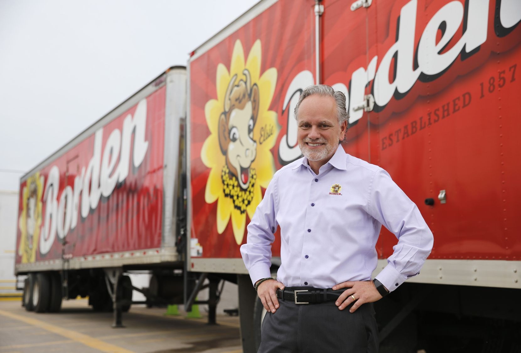 CEO Tony Sarsam joined Borden Dairy in 2018.