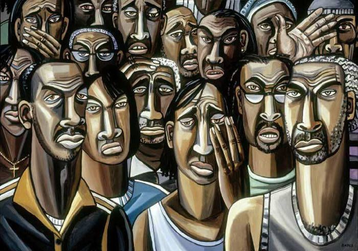 This work by Dallas artist David Bates, who graduated from Southern Methodist University, is an example of the type of art that organizers hope to show in a new Museum of Texas Art.