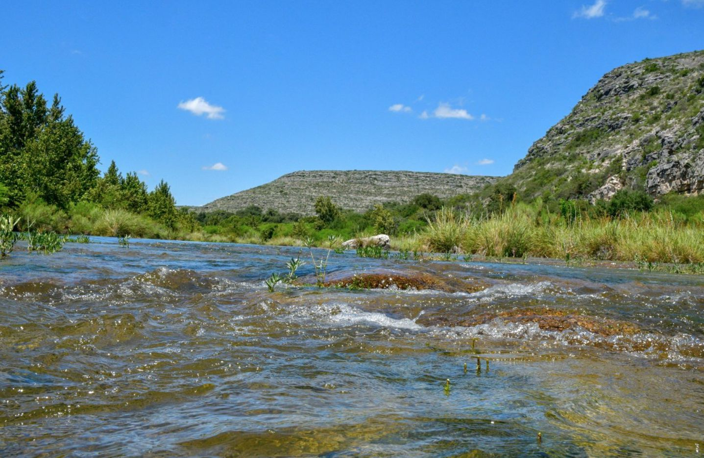 Monarch Ranch is on the Devils River.