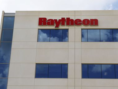 Raytheon employs about 3,000 people in Dallas-Fort Worth.