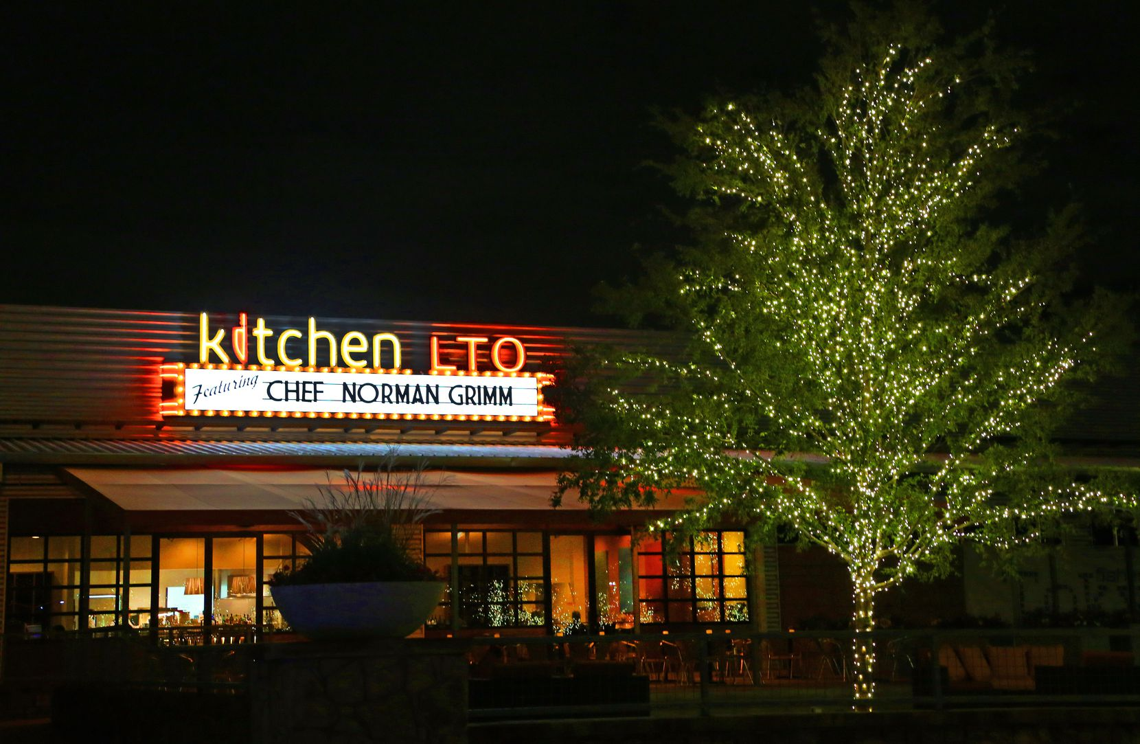 Kitchen LTO rotated chefs every few months. That was the concept: new menu, new chefs, to keep options fresh for the fickle Dallas diner. In October 2013, Norman Grimm was the top toque.