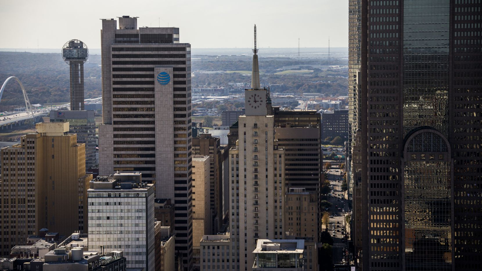 In Dallas, hotels saw about 60% of rooms booked in the second quarter.