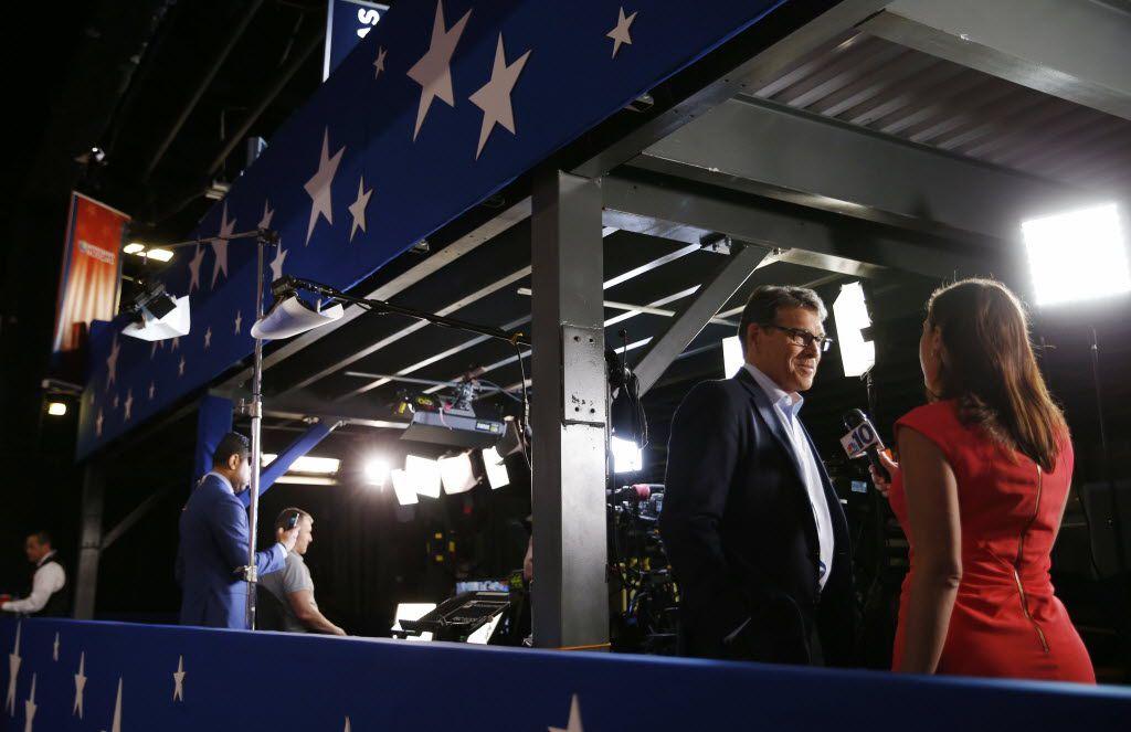 Former Texas Gov. Rick Perry was critical of Ted Cruz's non-endorsement of Donald Trump.