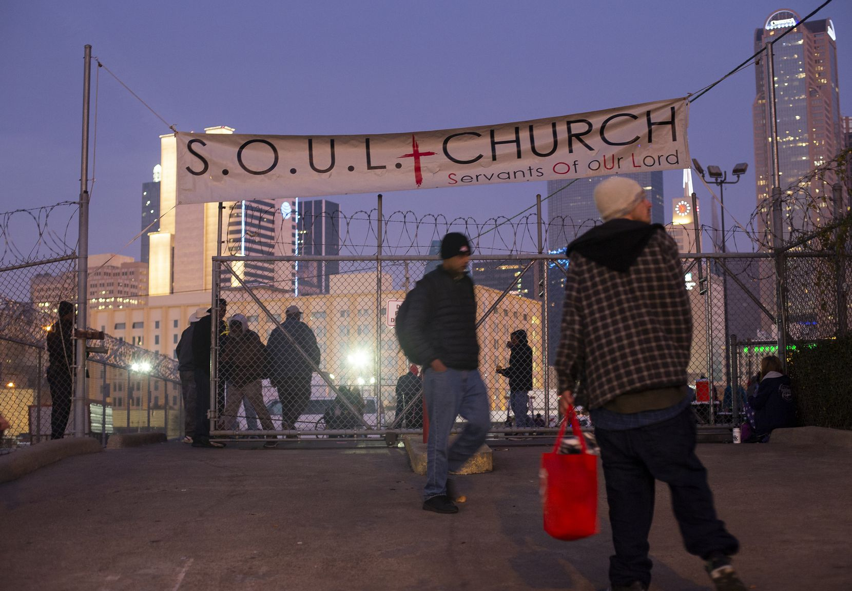 For the past 12 years, S.O.U.L. Church, an open-air congregation, met on the corner of St. Paul and Corsicana streets, until the church's final service on the lot in December.