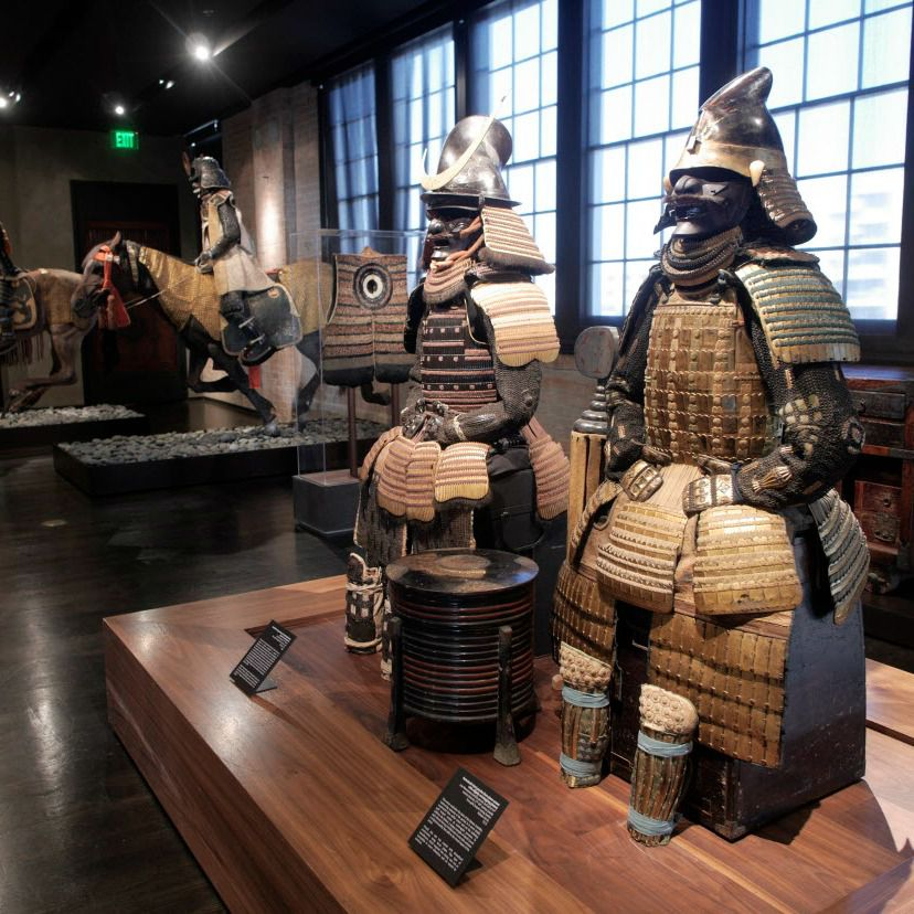 Armor on display at The Samurai Collection, photographed Wednesday June 3, 2015, at The Ann & Gabriel Barbier-Mueller Museum in downtown Dallas.