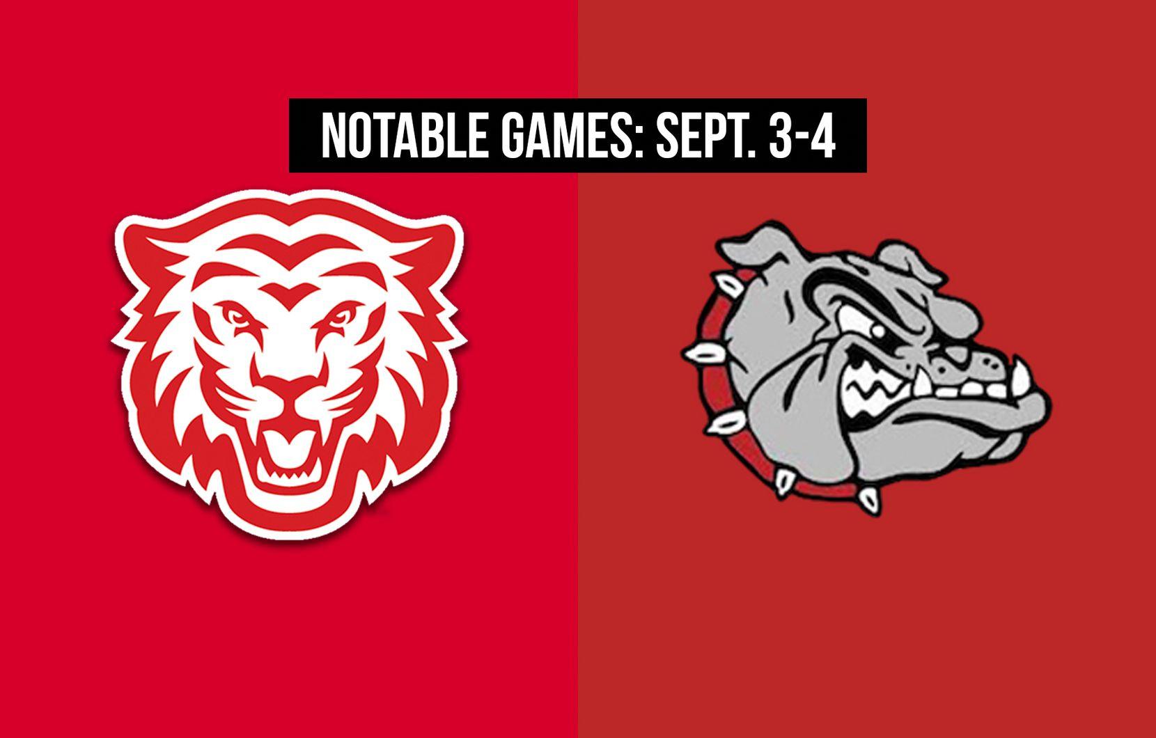 Notable games for the week of Sept. 3-4 of the 2020 season: Terrell vs. Kilgore.