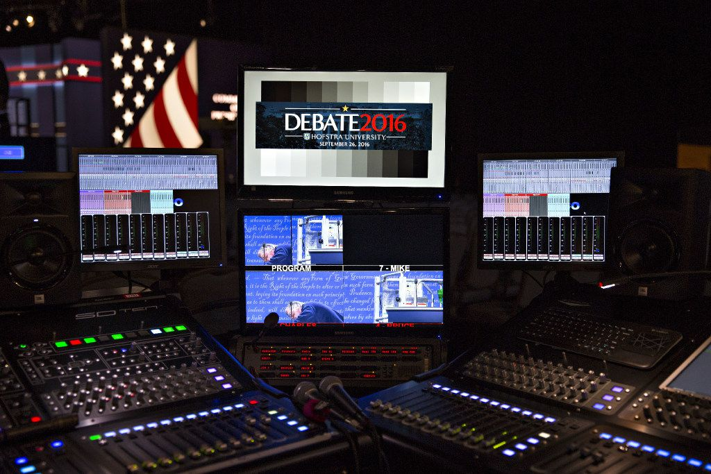 Presidential candidates Hillary Clinton and Donald Trump will face each other, and likely a record television audience, in the first general election debate of the 2016 U.S. presidential campaign.