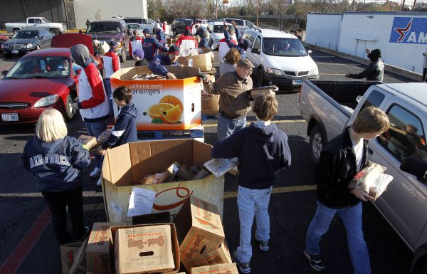The North Texas Food Bank's mobile pantry will be in Irving on Thursday morning.
