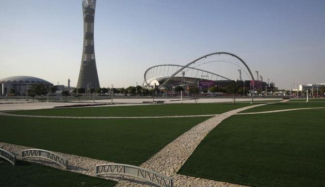 El estadio Khalifa en Doha, Qatar. (AP/Kin Cheung)