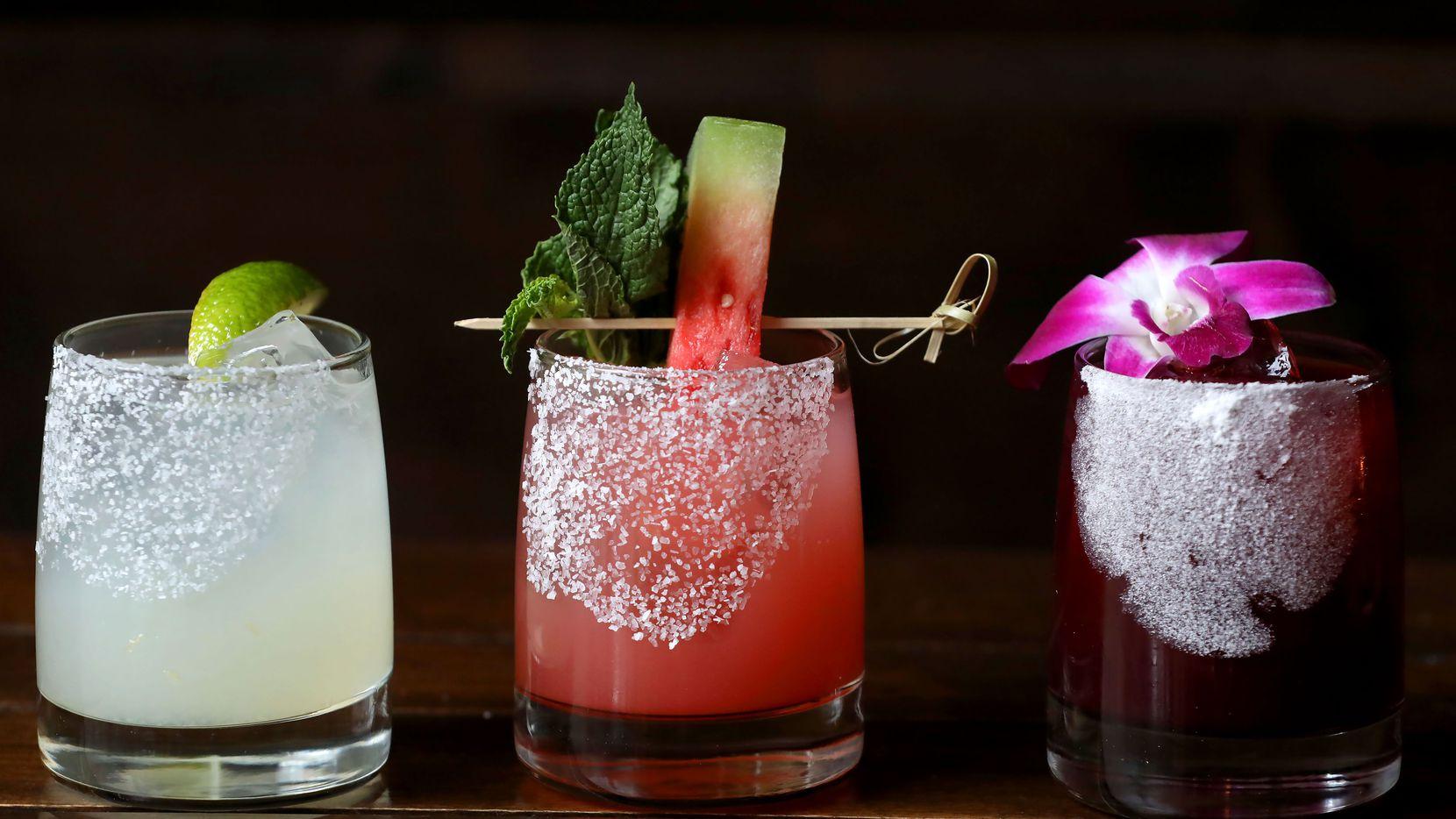 Margaritas at Mexican Sugar