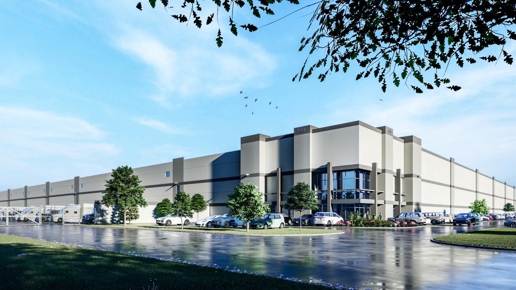 The more than 800,000-square-foot warehouse is planned near Interstates 20 and 45.