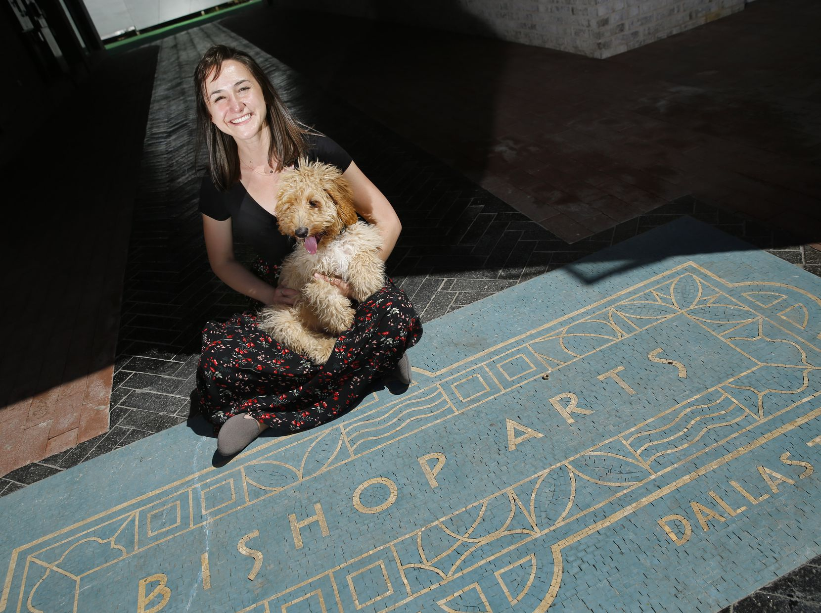 Lauren Stroh lives in a Bishop Arts apartment with her boyfriend, Ryan, whom she says is a big part of her support network, and her dog Murphy.
