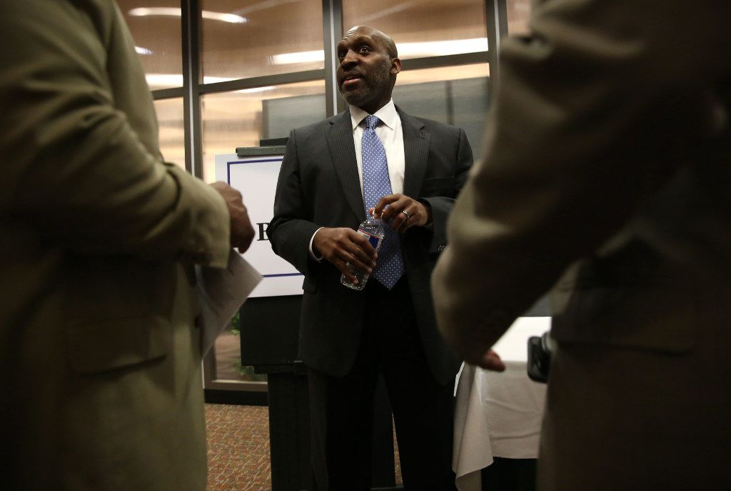 T.C. Broadnax met with city staffers and citizens at Dallas City Hall when interviewing on Dec. 6.
