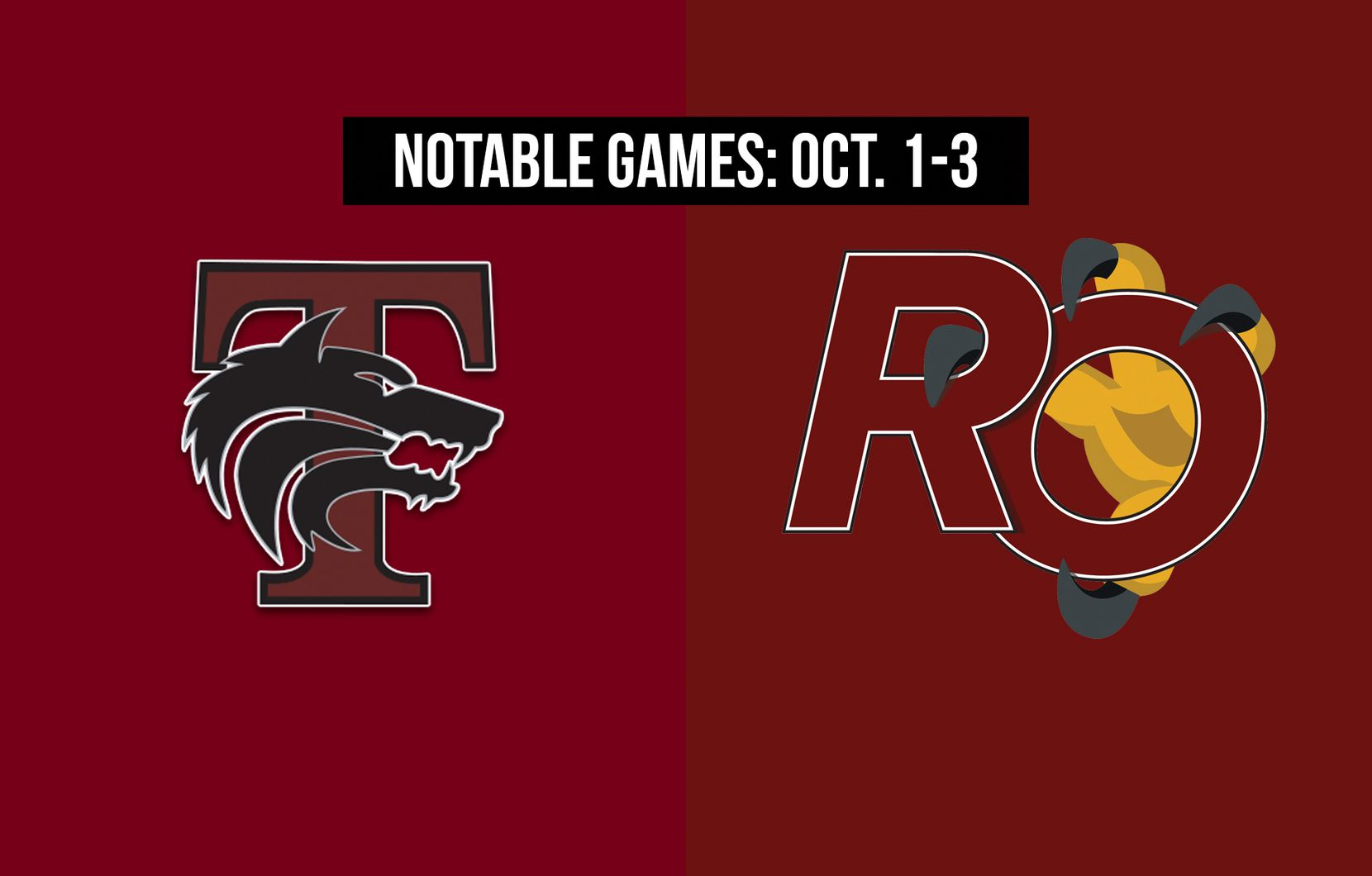 Notable games for the week of Oct. 1-3 of the 2020 season: Mansfield Timberview vs. Red Oak.