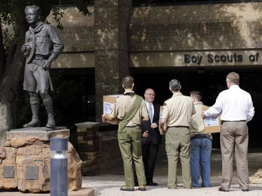 The Irving-based Boy Scouts of America stands to lose about 400,000 members as the Mormon church removes many of its youth to start a new organization.