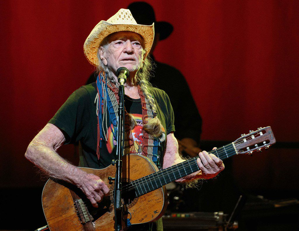"""Willie Nelson performs during the """"Willie Nelson & Family New Year"""" concert at Austin City Limits Live in Austin, Texas on Dec. 30. 2018."""