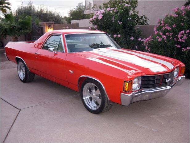 An example of a 1972 El Camino. A classic.