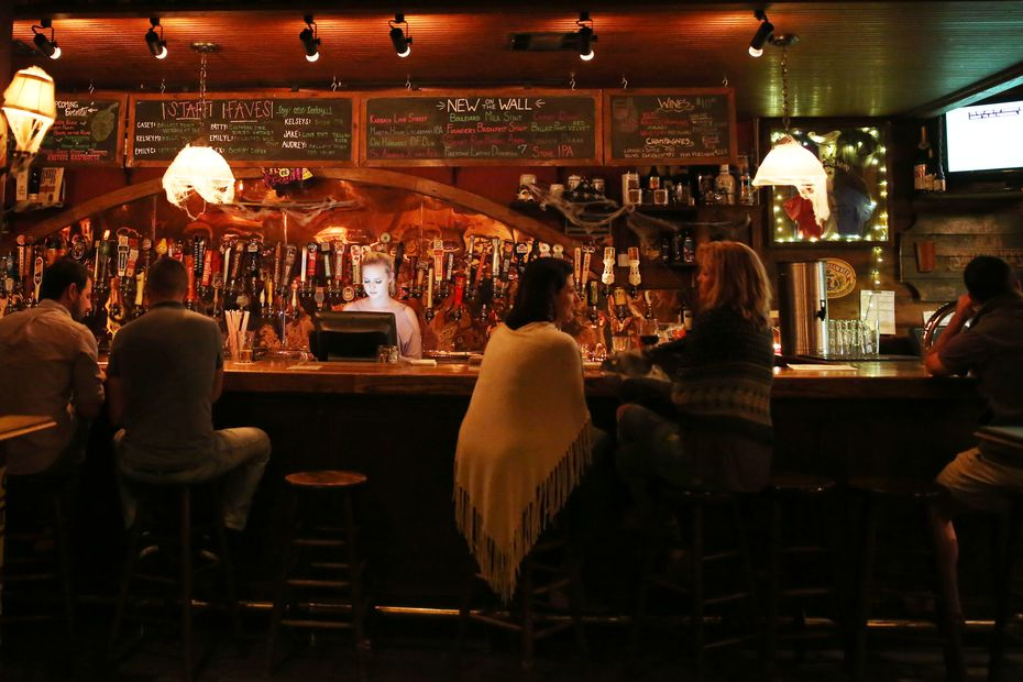 The Ginger Man in Uptown Dallas had dozens of taps — often with beers that were hard to find elsewhere.
