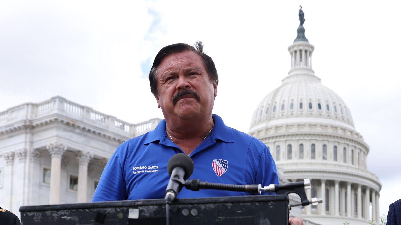 Domingo García, presidente nacional de LULAC, estuvo en el Capitolio hace unos meses a propósito del caso de Vanessa Guillén