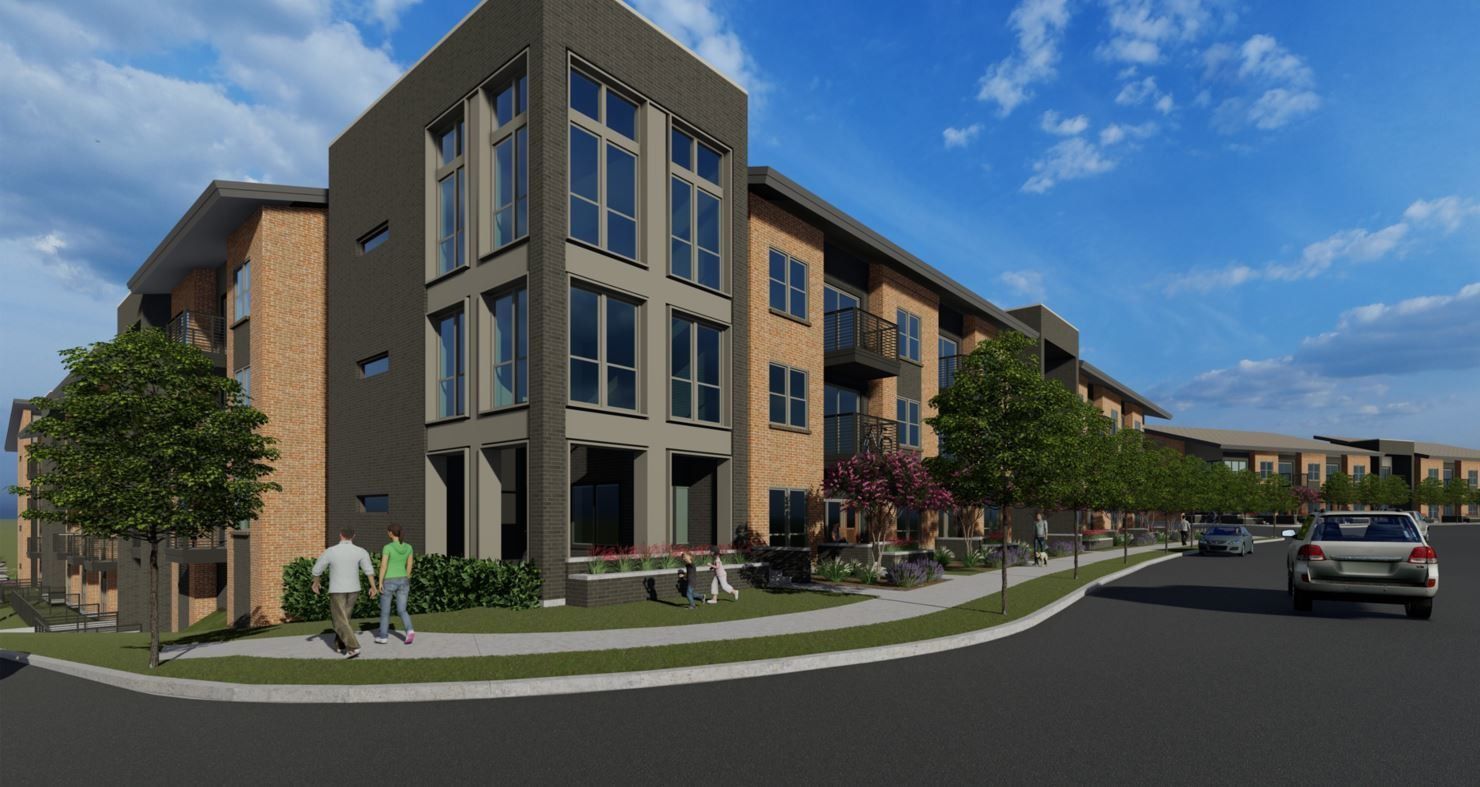 Wood Partners' Alta Spring Creek apartments will have 225 units.