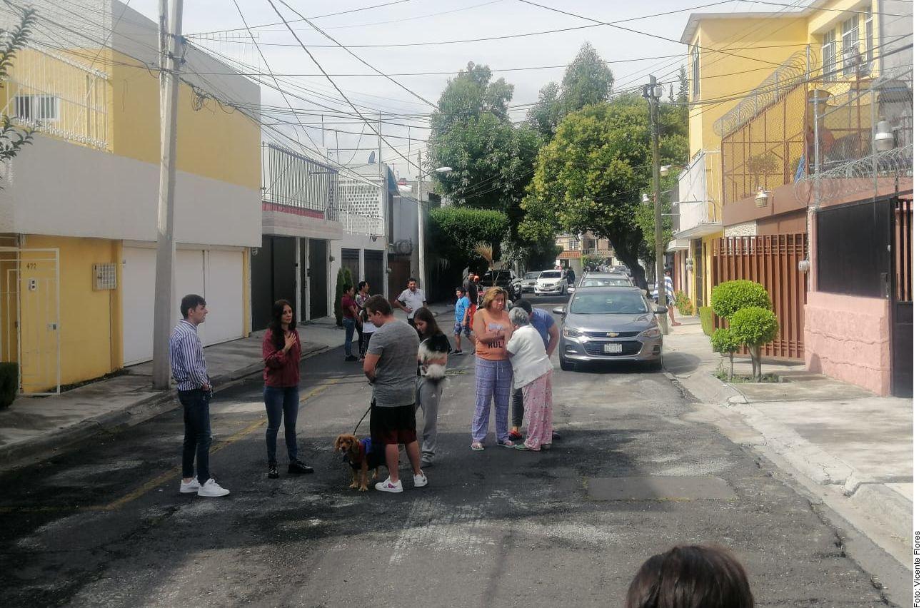 Un sismo se registró en la Ciudad de México.