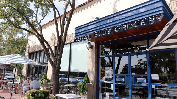 Royal Blue Grocery is a specialty food shop that opened in Highland Park Village in 2015. The store will be closing this summer.