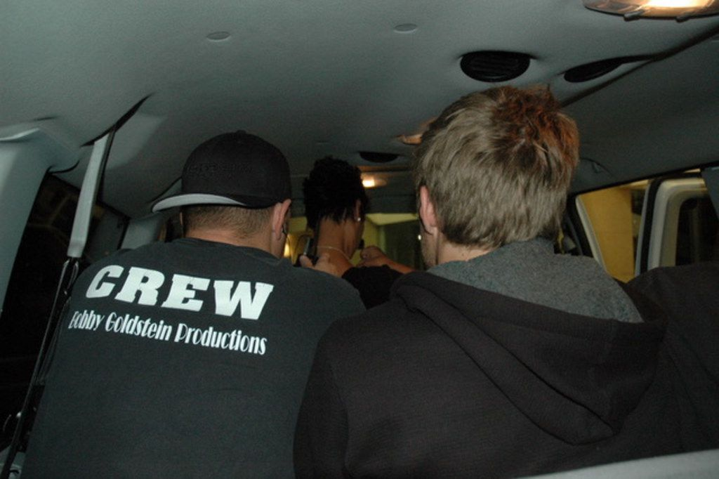 """The """"Cheaters"""" crew prepares the wounded party in route to a confrontation."""