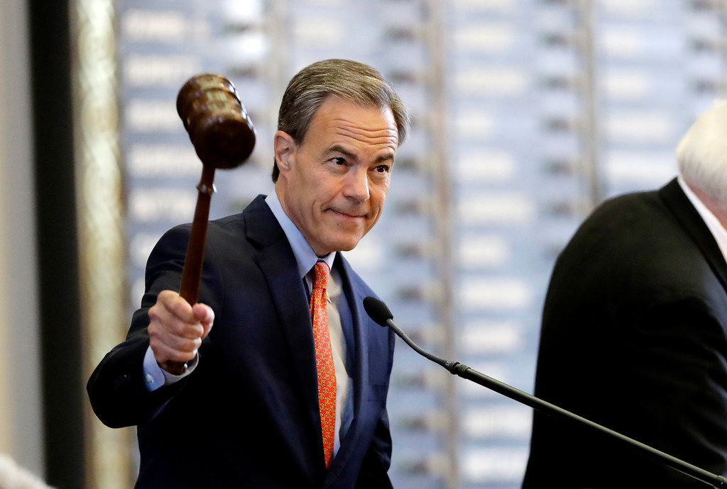 Texas Speaker of the House Joe Straus, R-San Antonio.