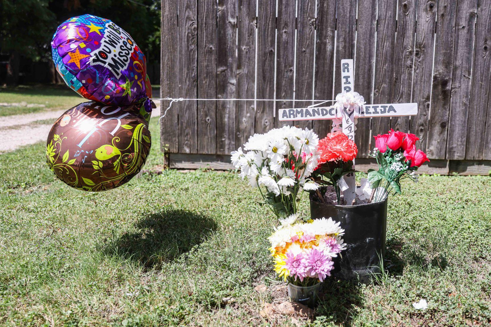 Armando Leija Esparza fue recordad en redes sociales como un mago de los jardines. Murió atropellado cuando un conductor se salió de la carretera.