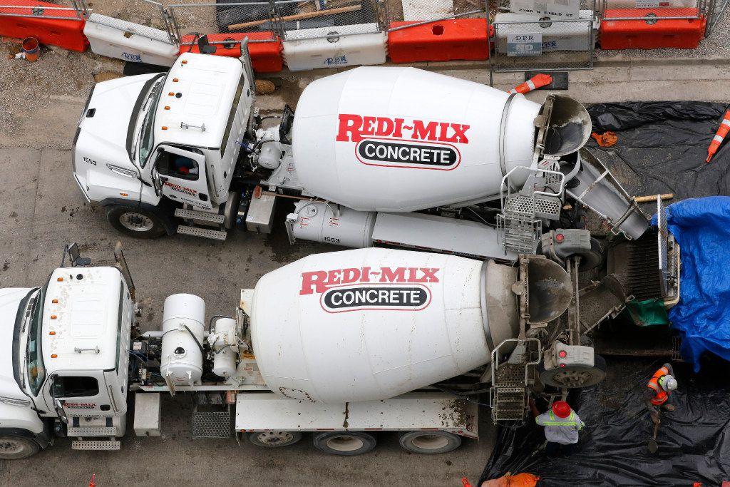 U.S. Concrete is a leading producer of Redi-Mix concrete.