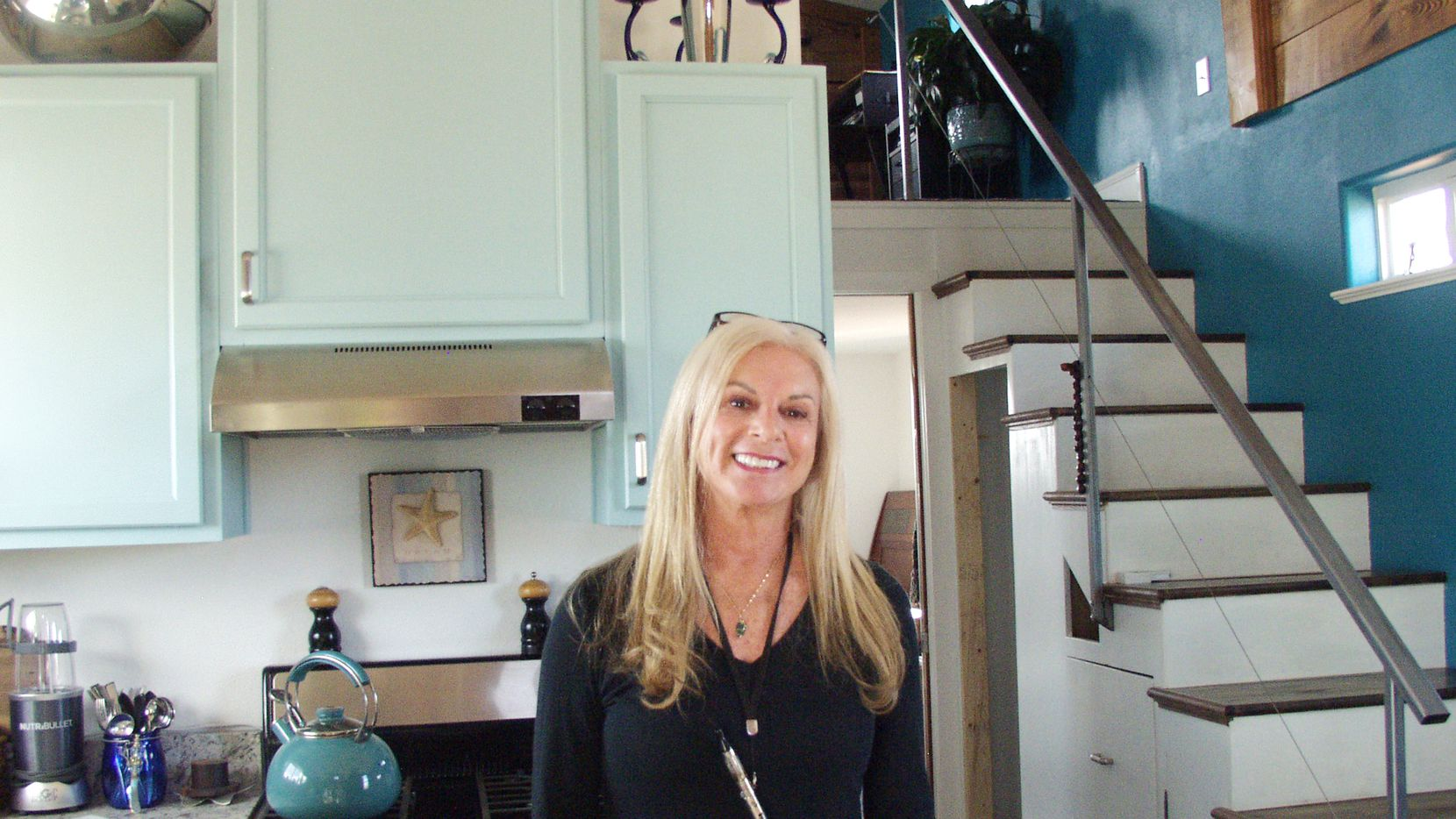 Denise Rosner, 62, is one of Spur''s new tiny-house owners. She lives in a 440-square-foot, traditional-looking home.