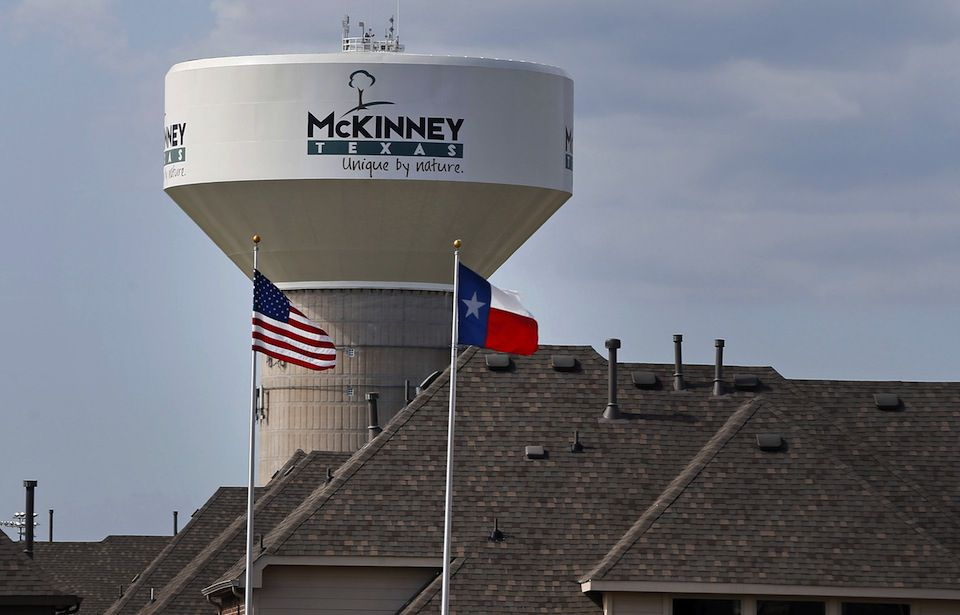 The new McKinney project will have more than 300 home sites. (AP)