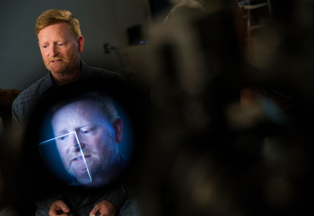 Paul Clyde, father of Brian Clyde, 22, who two days prior opened fire on the Earle Cabell Federal Building, speaks with The Dallas Morning News on Wednesday, June 19, 2019 at the Plano, Texas home of Brian Clyde's father Paul. Brian Clyde was shot by officers and died in the parking lot.