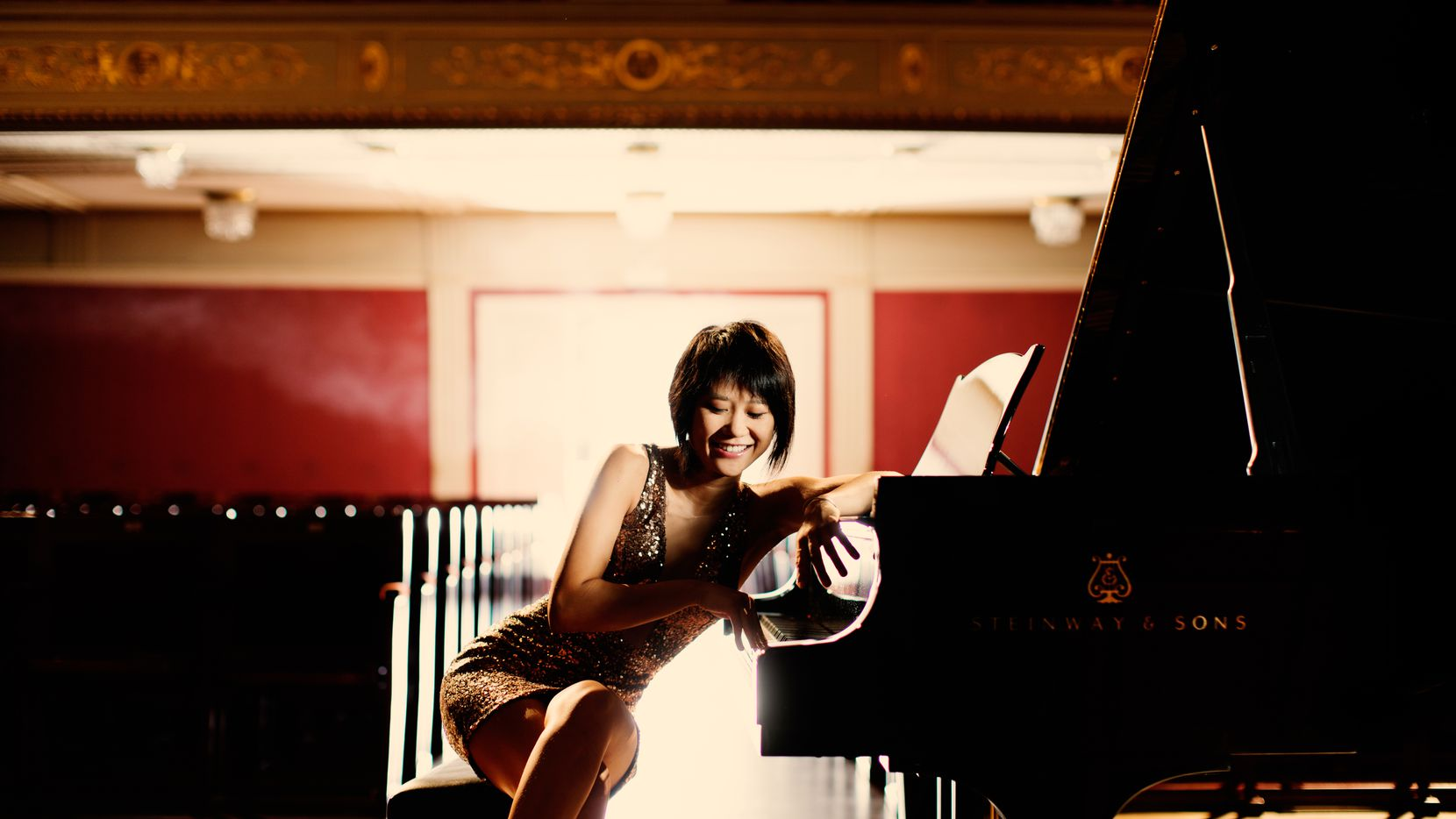 Chinese pianist Yuja Wang delivers electrifying live performances.