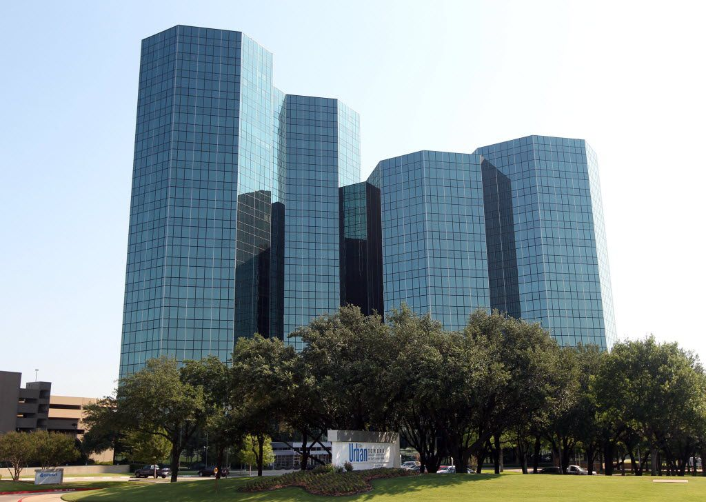 Celanese's corporate headquarters is in the Urban Towers complex on Las Colinas Boulevard in Irving.