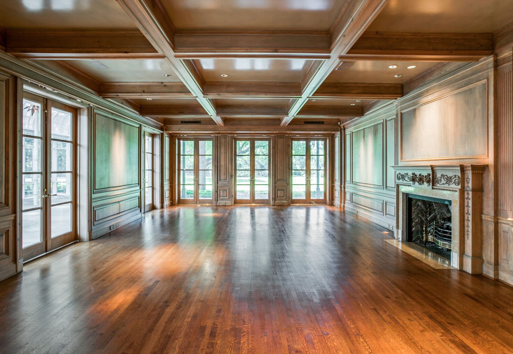 The house has more than 11,000 square feet.