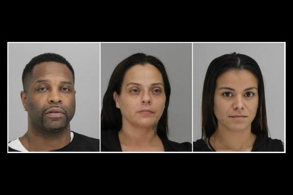 Tremont Blakemore, Donna González y Peaches Hurtado fueron arrestados por dirigir una red de prostitución.