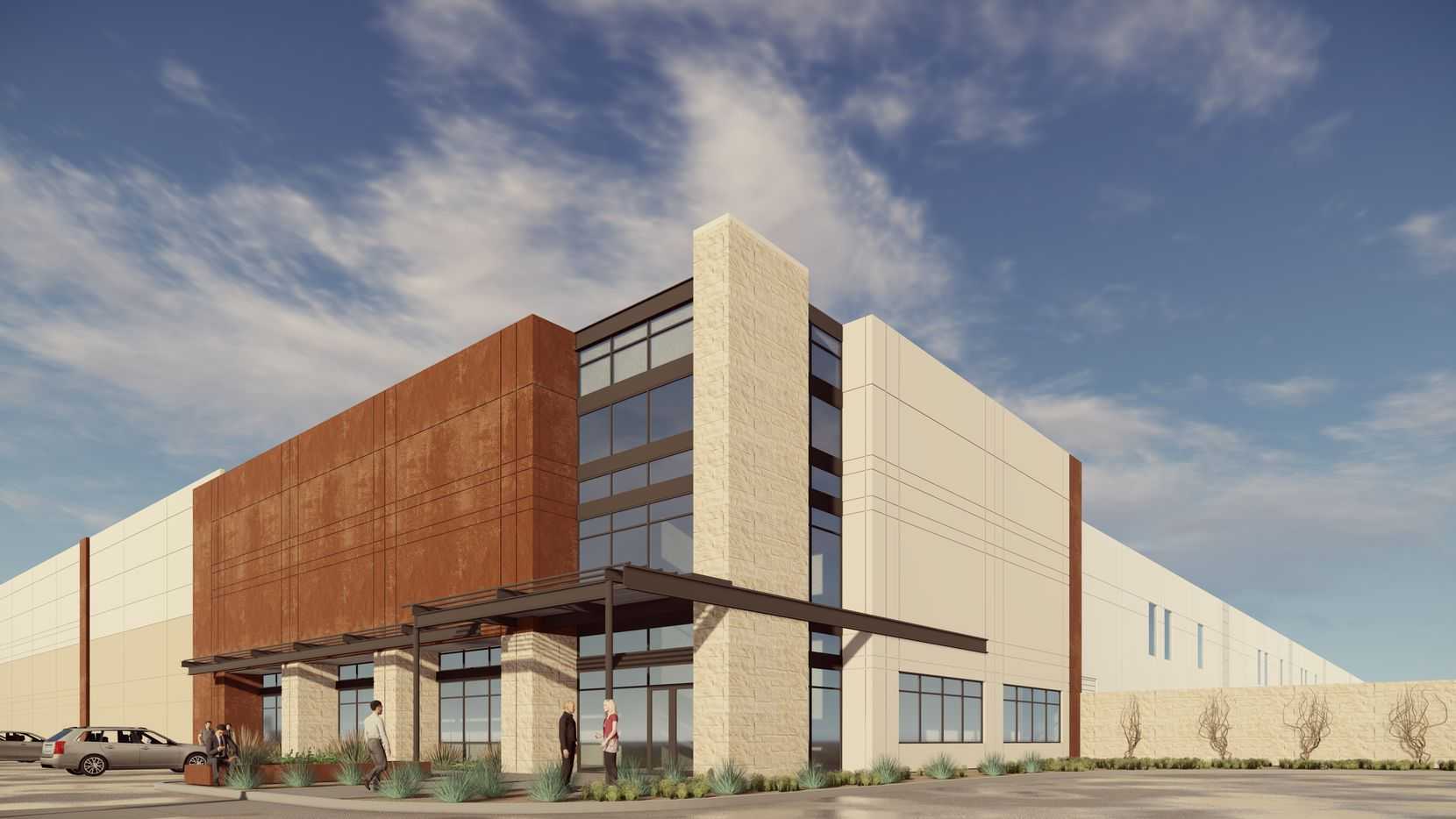 The new 46 Ranch Logistics Park is being built near Interstate 20.