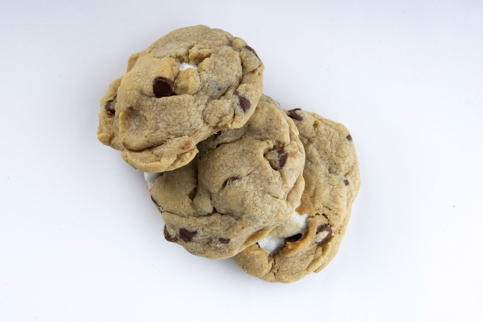 The s'mores chocolate chip cookie made by Luna Hartgrove won second place in the kid's choice cookie category.