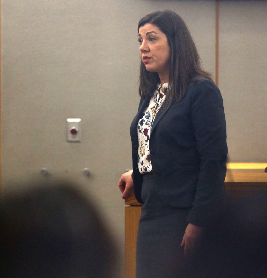 """Prosecutor Andrea Moseley told a Dallas jury that she didn't believe Thomas Johnson was evil. """"But he is dangerous. And we know that firsthand."""""""