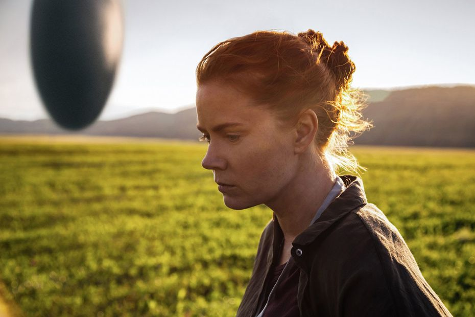 """Amy Adams as Dr. Louise Banks in a scene from the movie """"Arrival,"""" directed by Denis Villeneuve. (Paramount Pictures/TNS)"""