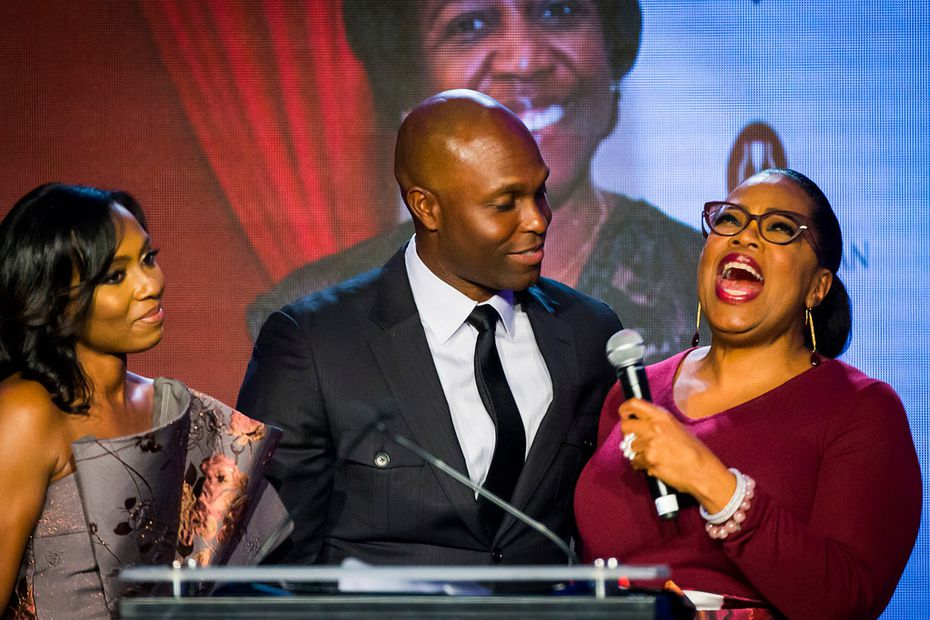 Who is Torii Hunter? He's a former Major League Baseball outfielder. He's also been closer to Oprah Winfrey than most of the rest of us have: That's Hunter, center, with his wife Katrina Hunter on the left, making a donation to Minnie's Food Pantry during an event hosted by Winfrey in 2018.