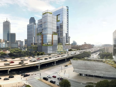 The huge Field St. District project is planned across from the Perot Museum