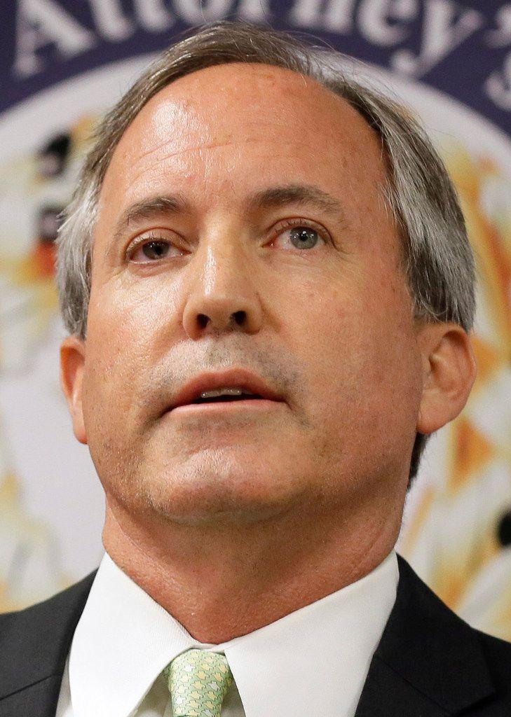 Texas Attorney General Ken Paxton (June 2017 AP File Photo)